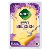 Melkan stuk kaas extra belegen 48+ voorkant