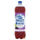 Hero fruit & water zwarte bes lemoen voorkant