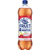 Hero fruit & water peer framboos voorkant