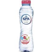 Spa reine subtile mineraalwater raspberry apple voorkant