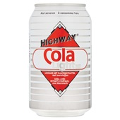 Highway cola light voorkant