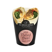 The Bread Office wrap pulled beef voorkant