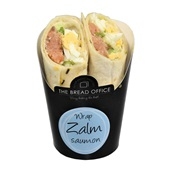 The Bread Office wrap zalm voorkant