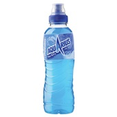 Aquarius Energiedrank Blue Berry voorkant
