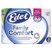 Edet Toiletpapier Family Comfort 3-Laags voorkant