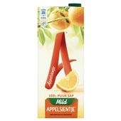 Appelsientje sinaasappelsap mild voorkant