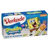 Verkade Koekjes Spongebob achterkant