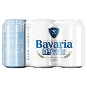 Bavaria Wit Bier Blik 0,0 % 6X33 Cl voorkant