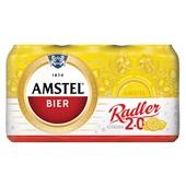 Amstel Radler Pils Blik 6X33 Cl voorkant