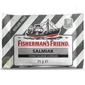 Fisherman's Friend Keelverzachter Salmiak Suikervrij voorkant