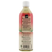 Tropical Aloe Vera Drink Peach achterkant