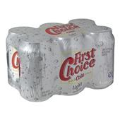 First Choice Cola Light achterkant