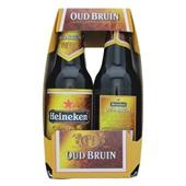 Heineken Pils Oud Bruin 6 X 30Cl achterkant