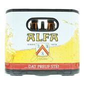 Alfa Pils Edel achterkant