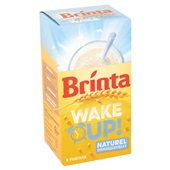 Brinta Wake Up! Drinkontbijt Naturel achterkant