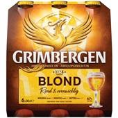 Grimbergen Bier Blond 6x30CL voorkant
