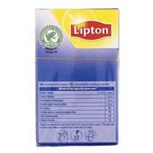 Lipton Thee Russian Earl Grey achterkant