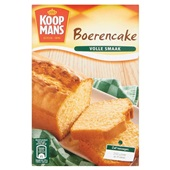 Koopmans Bakmix Boerencake voorkant
