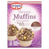 Dr. Oetker Bakmix Muffins Chocolade voorkant