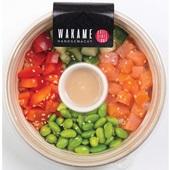 Wakame poké bowl zalm voorkant