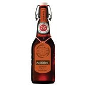 Grolsch bier dubbel beugel voorkant
