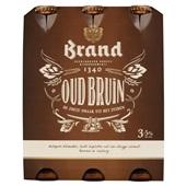 Brand bier oud bruin voorkant