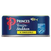 Princes tonijnstukken in olie voorkant