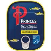 Princes sardines  in olie voorkant