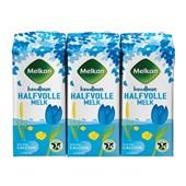 Melkan halfvolle melk  6-pack voorkant