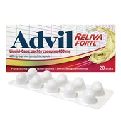 Advil ibuprofen liquid caps  voorkant