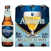 Affligem belgisch wit fl 6x300 ml  voorkant