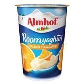 Almhof Roomyoghurt Spaanse Sinaasappel voorkant