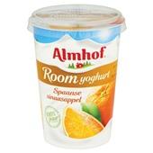 Almhof Roomyoghurt Spaanse Sinaasappel achterkant
