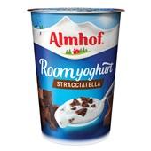 Almhof roomyoghurt stracciatella voorkant