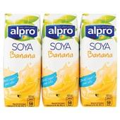 Alpro Soya Drink Banaan  Mini voorkant
