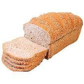 Ambachtelijke Bakker vloerbrood sesam heel gesneden voorkant