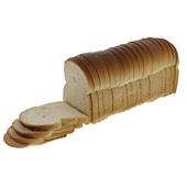 Ambachtelijke Bakker wit brood heel gesneden voorkant