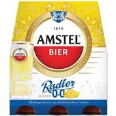 Amstel Radler 0.0% 6X30CL voorkant