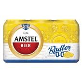 Amstel Radler Bier 0,0% Blik 6X33 Cl voorkant