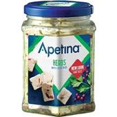Apetina witte kaasblokjes in olie voorkant
