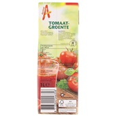 Appelsientje tomaat/groente achterkant