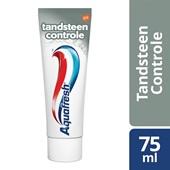 Aquafresh Tandpasta Tandsteen Controle achterkant