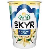 Arla creamy vanille voorkant