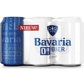 Bavaria Bier 0,0% Blik 6X33 Cl voorkant