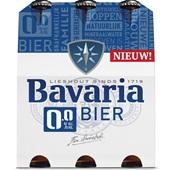 Bavaria pils 0.0 6-pack voorkant
