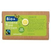 Bio+ groene thee biologisch voorkant