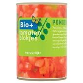 Bio+ tomatenblokjes voorkant