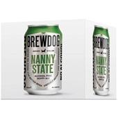 BrewDog bier nanny state voorkant