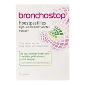 Bronchostop hoestpastilles voorkant