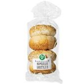 broodje hamburger broodje voorkant